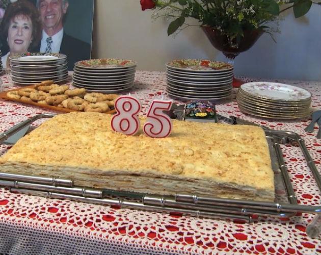 7-Layer Napoleon Cake