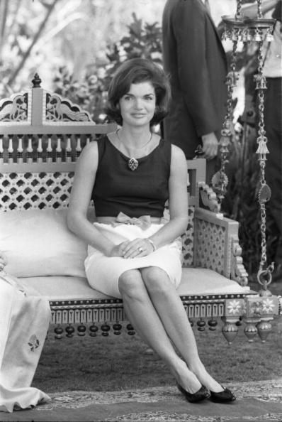 Jackie Kennedy In India
