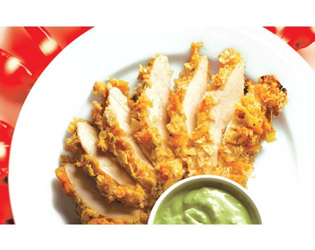 Baked Tortilla Chicken
