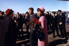 Jackie Kennedy and the Pink Suit