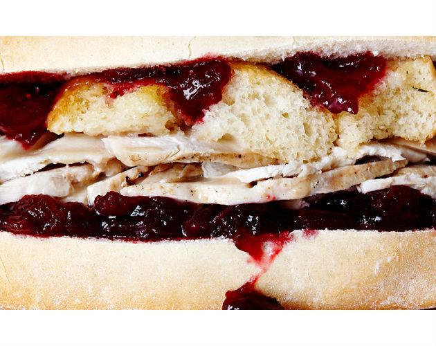 Leftover Turkey Sandwiches