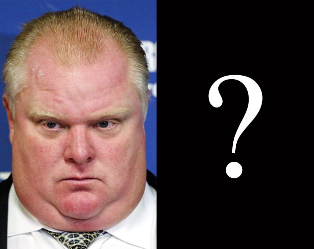 Rob Ford Musical