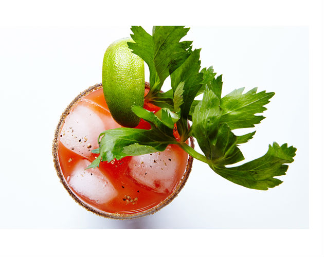 Spicy Caesar Cocktail