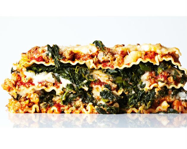 Turkey Bolognese Lasagna