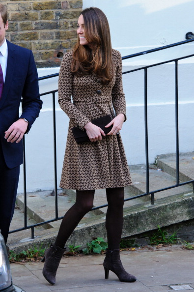 The Duke And Duchess of Cambridge Visit Only Connect Charity