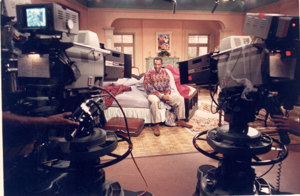 Cosby On The Set