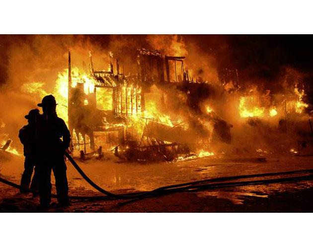 Fire at Quebec Seniors Home
