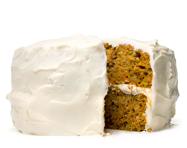 Light Carrot Cake with Cream Cheese Icing