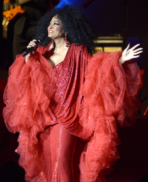 Diana Ross, October 2013