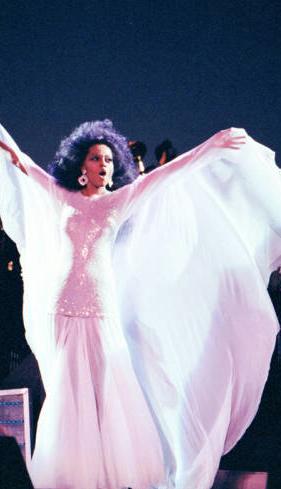 Diana Ross, August 1991