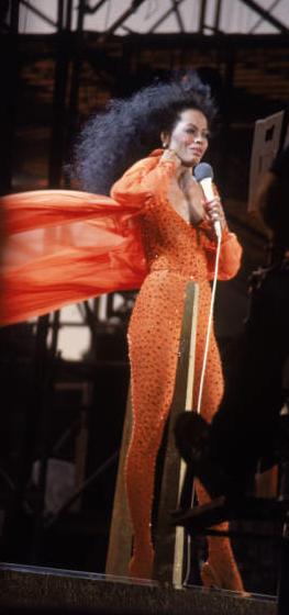 Diana Ross, July 1983