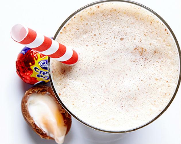 Cadbury Cream Egg Milkshake