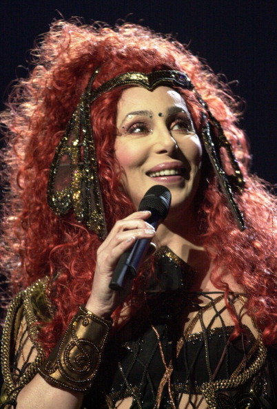 Cher Performs At The Fleet Center