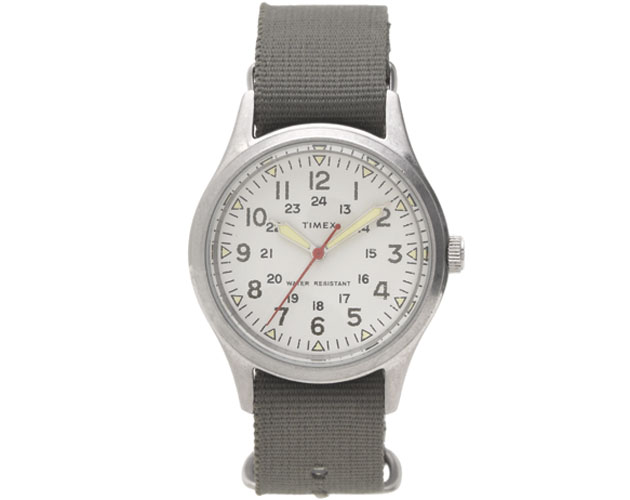 Timex for J.Crew Vintage-Field-Army-watch, J.Crew, www.jcrew.com