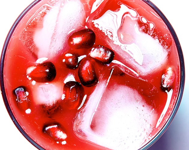 Sunset Pomegranate Martini