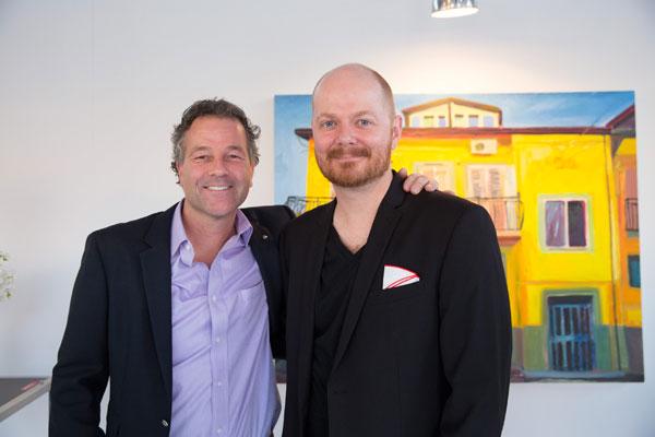 Manny-Neubacher,-Neubacher-Shor-Gallery-&-Byron-Hodgins,-Artist