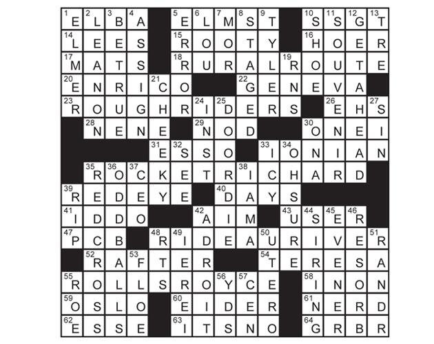Sept2014_Crossword-answers