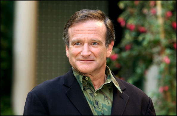 "Photo-Call Of Robin Williams In Paris, France To Promote His New Film ""Insomnia"" On October 08, 2002."