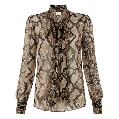 Bow-Blouse-in-Python-Print-$34