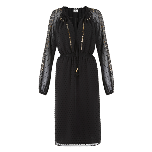 Embroidered-Romanian-Dress-in-Black-Swiss-Dot-$54