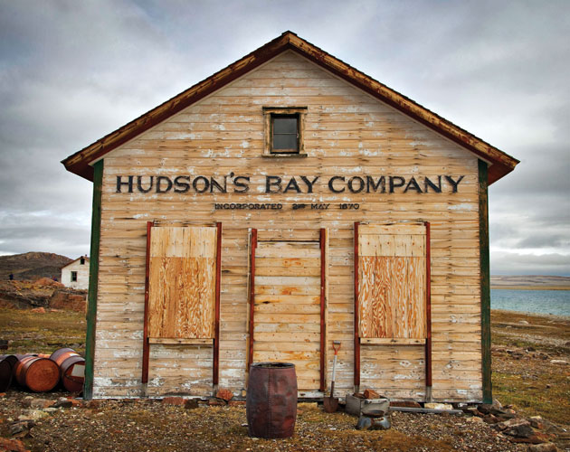 A Hudson's Bay Company outpost in Fort Ross