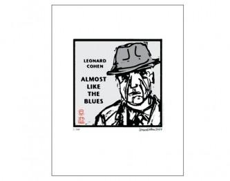 LeonardCohen_Lithograph