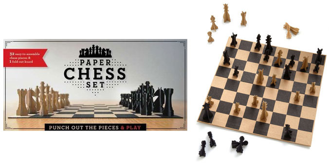 paper-chess-set