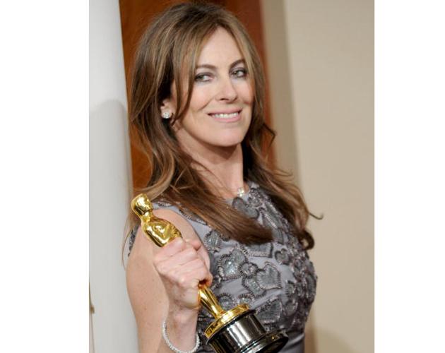 Director Kathryn Bigelow, winner of Best Director award for 'The Hurt Locker,'