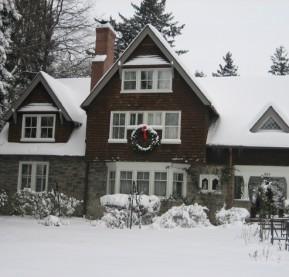 garden-snow,-front-of-house,-wreath,-2
