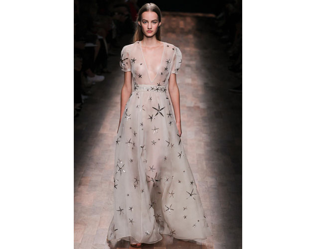 We nominate this ethereal starfish print dress by Valentino for Keira Knightley.