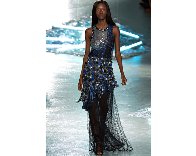 We nominate this midnight blue gown from Rodarte for Julianne Moore.