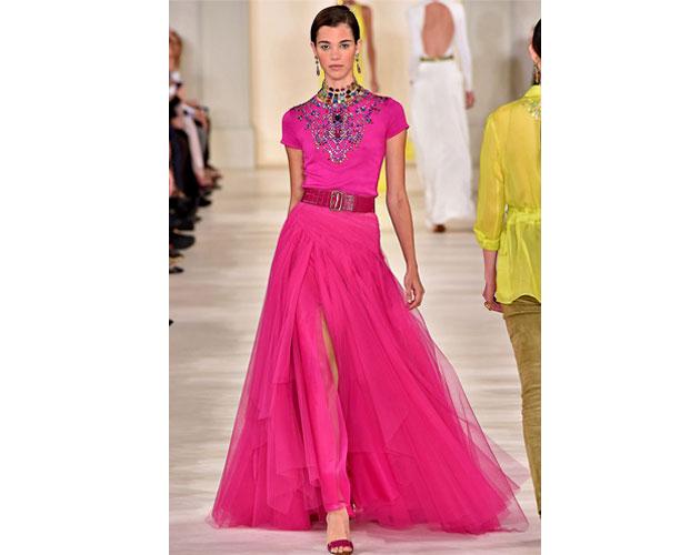 We nominate this bejeweled gown from Ralph Lauren for Helen Mirren.
