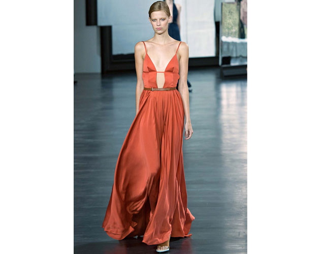 7. We nominate this goddess gown by Jason Wu for Jessica Chastain.