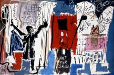 Jean-Michel Basquiat Obnoxious Liberals 1982, The Eli and Edythe L. Broad Collection © Estate of Jean-Michel Basquiat (2014) Licensed by Artestar, New York