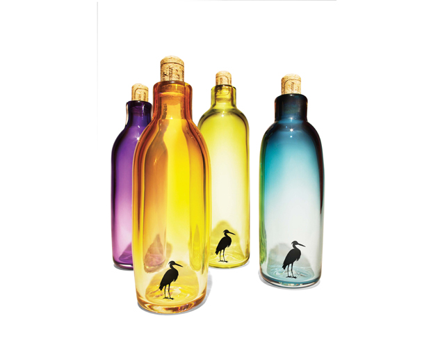 Claire-Anderson-and-Steven-Woodruff's-Glass-bottles-with-cork,-$60-each