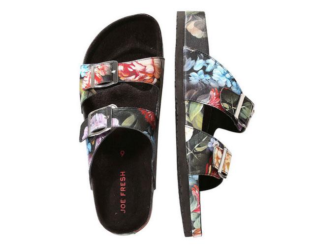 florals-joe-fresh-sandals