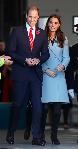 Duke & Duchess Of Cambridge Visit The Valero Pembroke Refinery