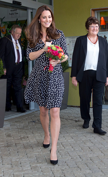The Duchess Of Cambridge Visits Brookhill Children's Centre