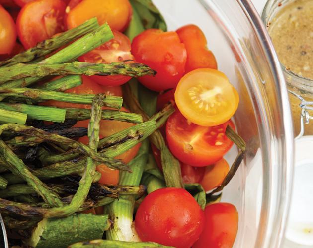 Grilled-vegetable