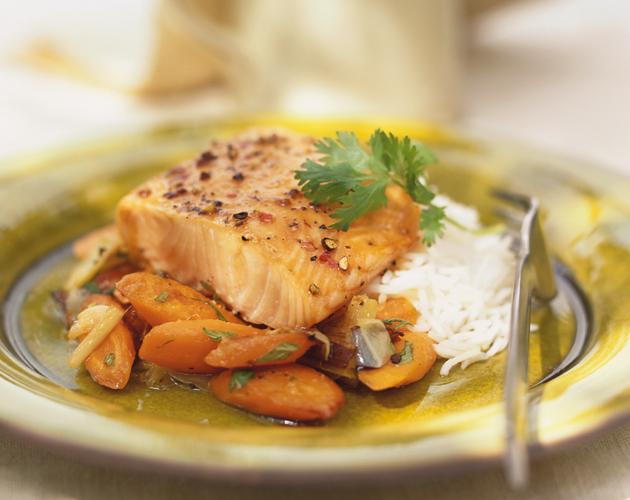Salmon-Honey-Cilantro