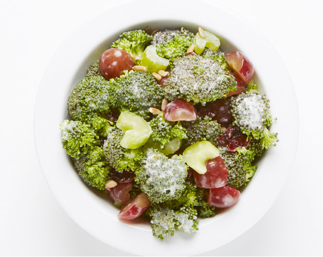 broccoli-grape-cranberry-salad