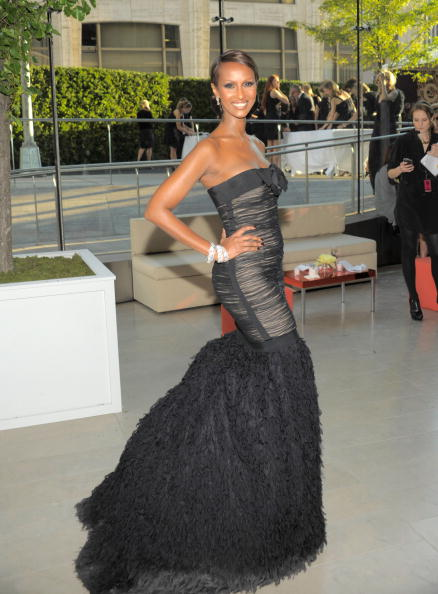 NEW YORK - JUNE 07: Iman attends the 2010 CFDA Fashion Awards at Alice Tully Hall, Lincoln Center on June 7, 2010 in New York City. (Photo by Kevin Mazur/WireImage)