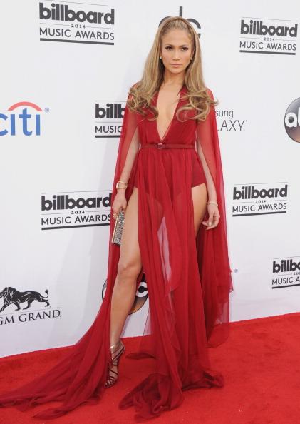 LAS VEGAS, NV - MAY 18:  Jennifer Lopez arrives at the 2014 Billboard Music Awards at the MGM Grand Hotel and Casino on May 18, 2014 in Las Vegas, Nevada.  (Photo by Jon Kopaloff/FilmMagic)