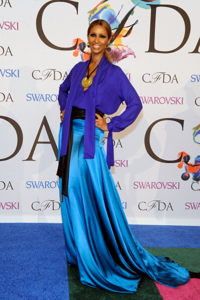 NEW YORK, NY - JUNE 02: Iman attends the 2014 CFDA fashion awards at Alice Tully Hall, Lincoln Center on June 2, 2014 in New York City. (Photo by Rabbani and Solimene Photography/WireImage)