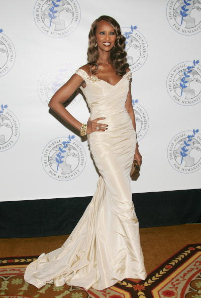 NEW YORK - MAY 20: Model Iman attends The Elie Wiesel Foundation for Humanity Award Dinner at the Waldorf-Astoria, May 20, 2007 in New York City. (Photo by Evan Agostini/Getty Images)