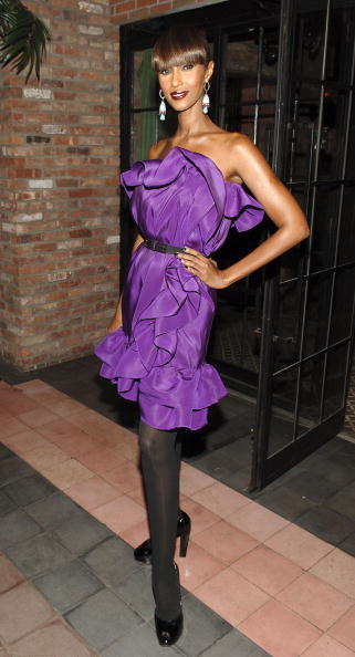 NEW YORK - OCTOBER 24: Iman attends a pre-party celebration for New York's Night of Stars' honorees Howard Socol and Alber Elbaz hosted by herself and Barneys on October 24, 2007 in New York City. (Photo by Andrew H. Walker/Getty Images)