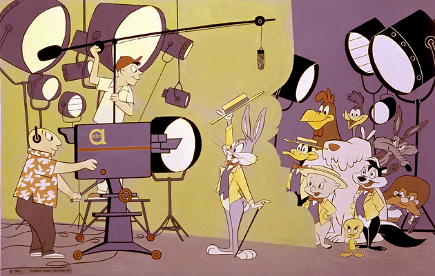 CARTOONS - ABC/Warner Characters - 8/9/73 Bugs Bunny and Friends (ABC PHOTO ARCHIVES/@1960 WARNER BROS. PICTURES INC.)