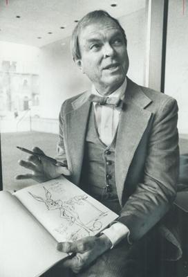 Chuck Jones, the animator behind Bugs Bunny