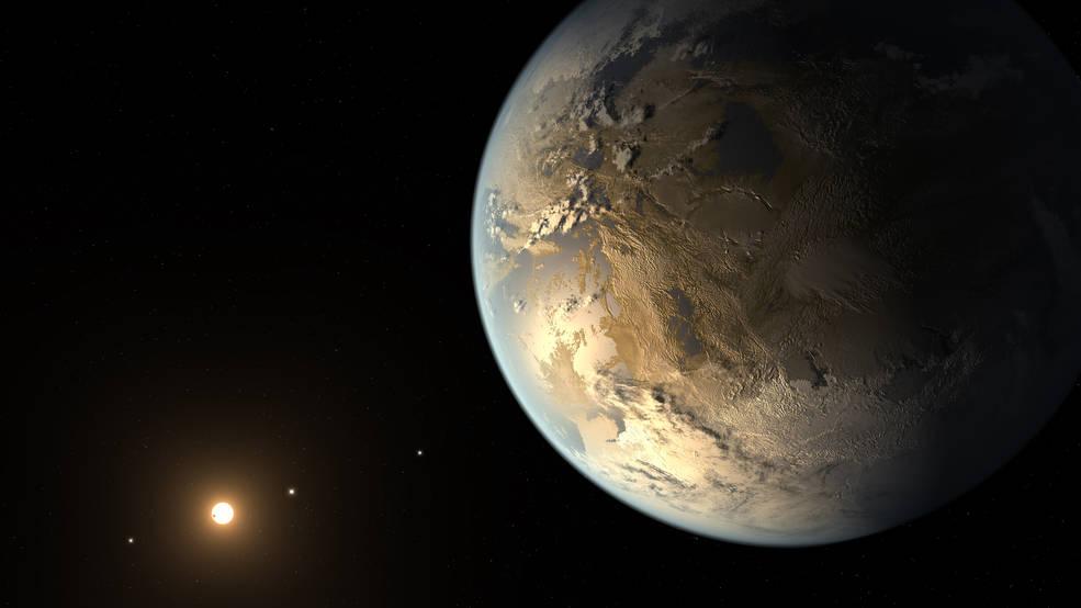 Second Earth Keplar-186f