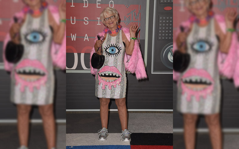 Baddie Winkle Attends The Mtv Video Music Awards